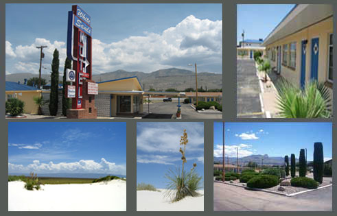 Stay at White Sands Motel in Alamogordo, New Mexico